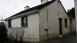 Domestic exterior wall Insulation